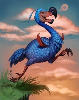 Beakers the Dodo